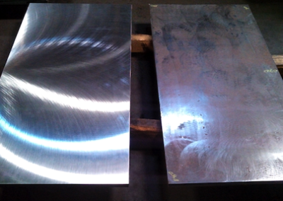 Flat & Parallel Plate - Before & After