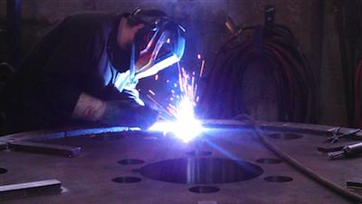 Welding Rotor Disc