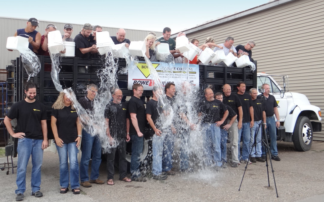 Bowe Machine Company ALS Ice Bucket Challenge