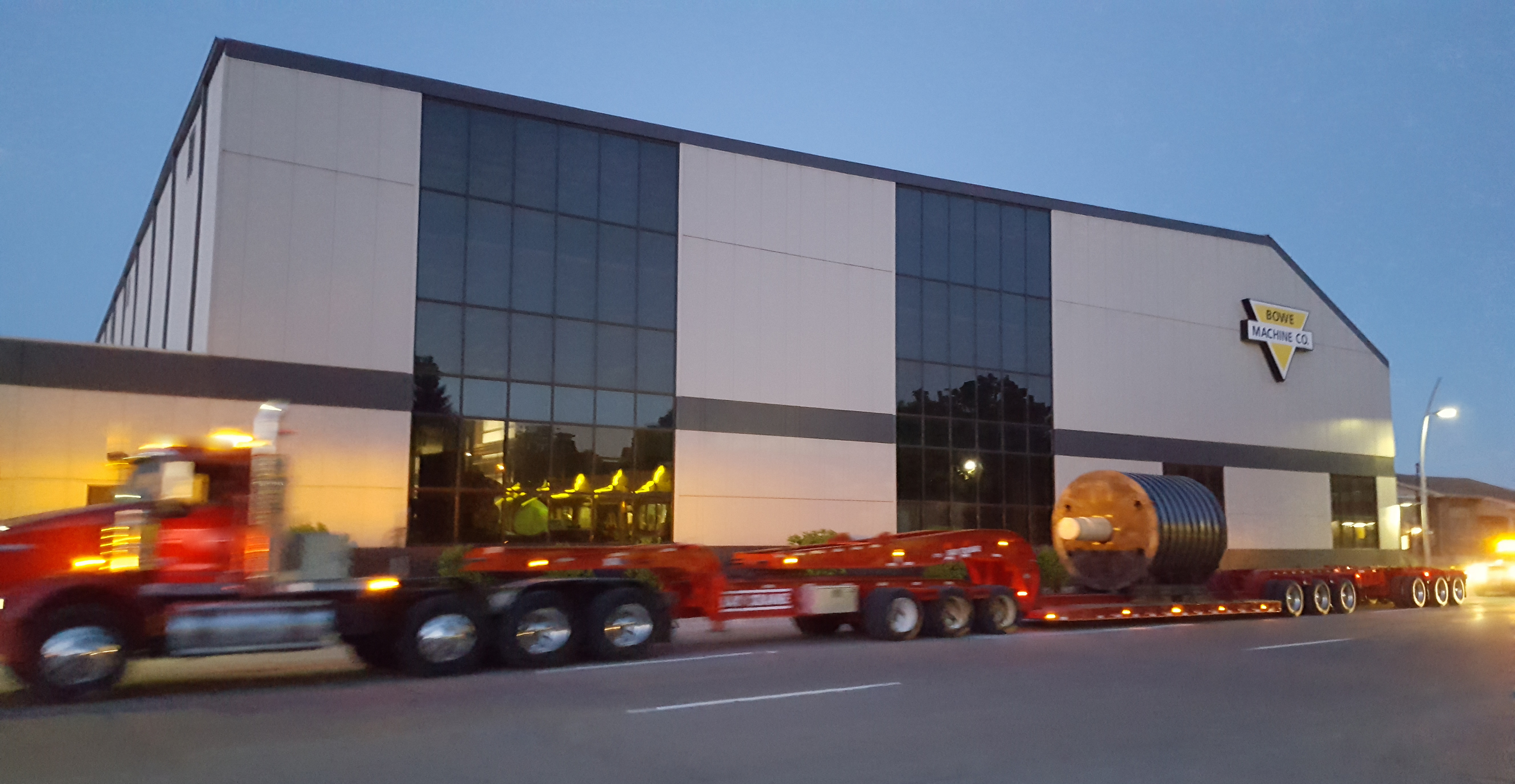 160,00 Disc Rotor shipping out on a 130-foot-long truck