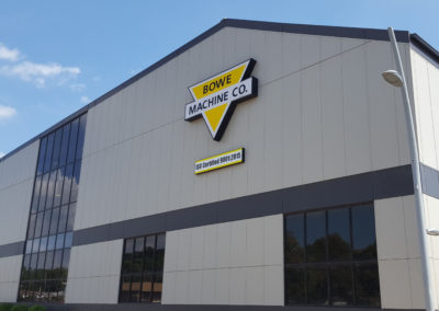 Bowe Machine Company ISO 9001:2015